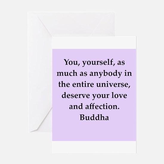 Buddha wisdom Greeting Card
