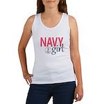Navy Girl Tank Top