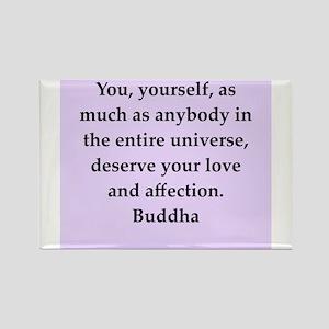 Buddha wisdom Rectangle Magnet