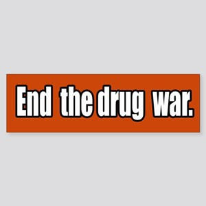 End the Drug War Bumper Sticker