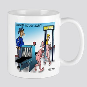 Increased Airport Security Mug