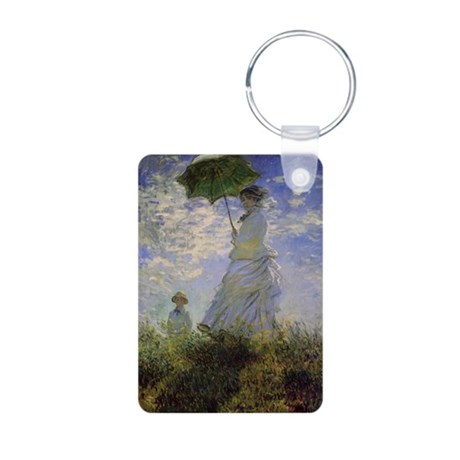 Claude Monet Aluminum Photo Keychain