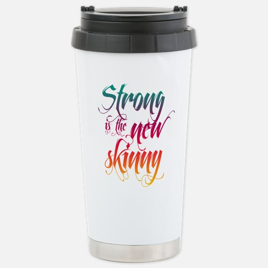 Strong is the New Skinny - Sc Stainless Steel Trav