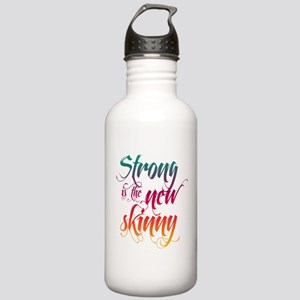 Strong is the New Skinny - Sc Stainless Water Bott
