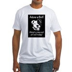 Adore-A-Bull 2! Fitted T-Shirt