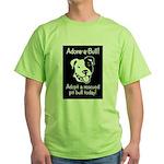 Adore-A-Bull 2! Green T-Shirt