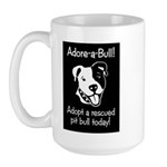 Adore-A-Bull 2! Large Mug