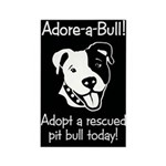 Adore-A-Bull 2! Rectangle Magnet (10 pack)