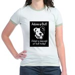 Adore-A-Bull 2! Jr. Ringer T-Shirt