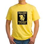 Adore-A-Bull 2! Yellow T-Shirt