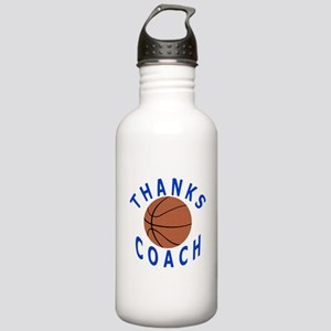 Thank You Basketball Coach Stainless Water Bottle