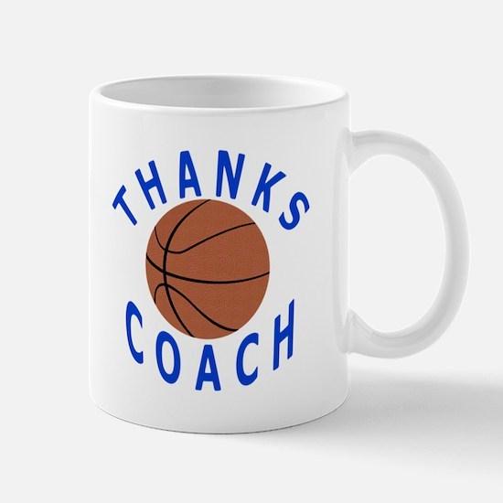 Thank You Basketball Coach Mug