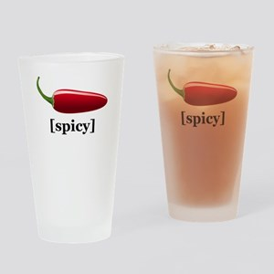 Spicy Drinking Glass
