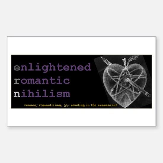 Funny Schopenhauer Sticker (Rectangle)