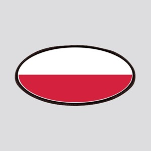Polish Flag Patches