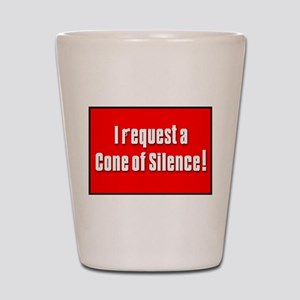 Cone of Silence Get Smart Shot Glass