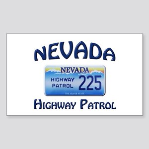 Nevada Highway Patrol Sticker (Rectangle)