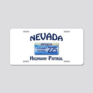Nevada Highway Patrol Aluminum License Plate