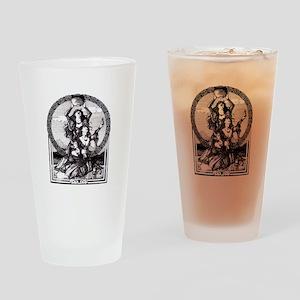 Triple Goddess Drinking Glass