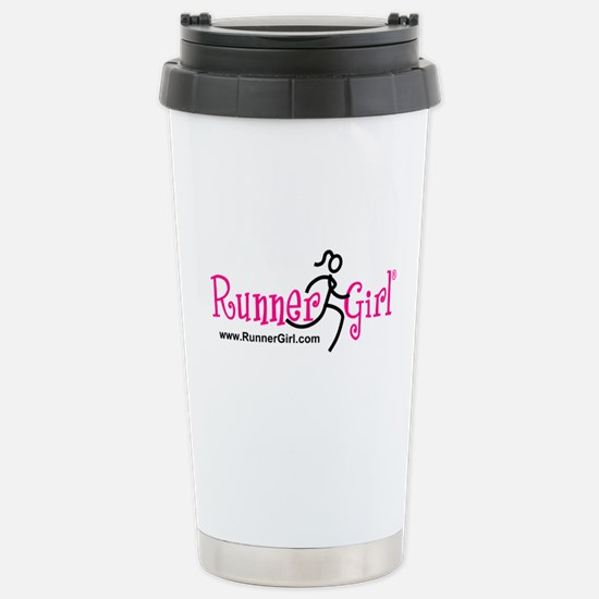 RunnerGirl Stainless Steel Travel Mug