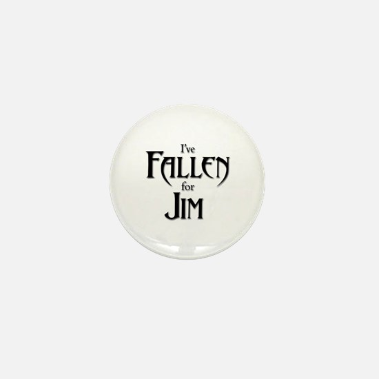 I've Fallen for Jim Mini Button