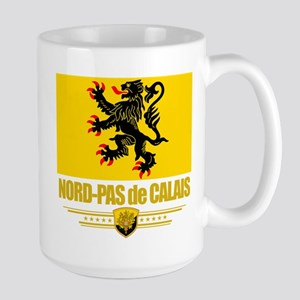 Nord-Pas de Calais Large Mug