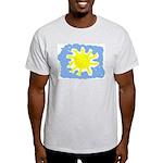 Painted Sun Ash Grey T-Shirt