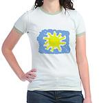 Painted Sun Jr. Ringer T-Shirt