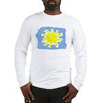 Painted Sun Long Sleeve T-Shirt