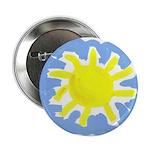 Painted Sun Button