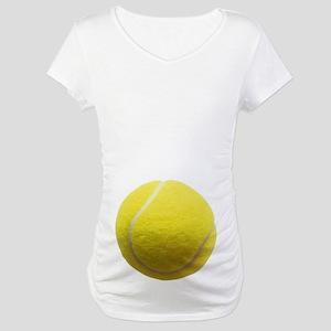 Classic Tennis Ball Maternity T-Shirt