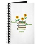 Sunflowers and Books Journal