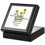Sunflowers and Books Keepsake Box