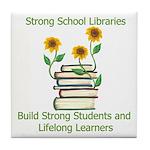 Sunflowers & Students Tile Coaster