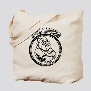 Bulldogs Team Mascot Graphic Tote Bag