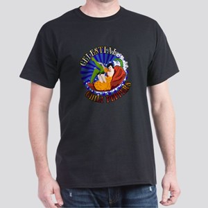 Celestial Chili Peppers Dark T-Shirt