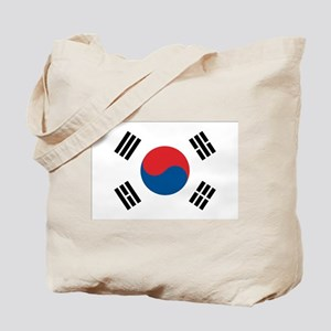South Korea Flag Tote Bag