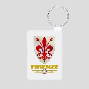 Firenze/Florence Aluminum Photo Keychain