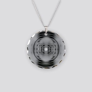 X-Ray Image of DNA Necklace Circle Charm