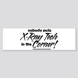 X-Ray Nobody Corner Sticker (Bumper)