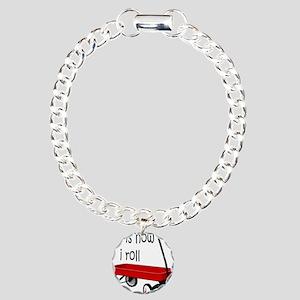 LITTLE RED WAGON Charm Bracelet, One Charm