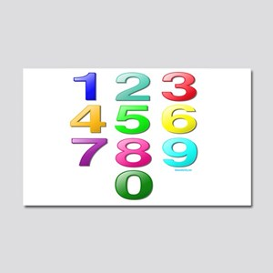 COUNTING/NUMBERS Car Magnet 20 x 12