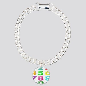 COUNTING/NUMBERS Charm Bracelet, One Charm