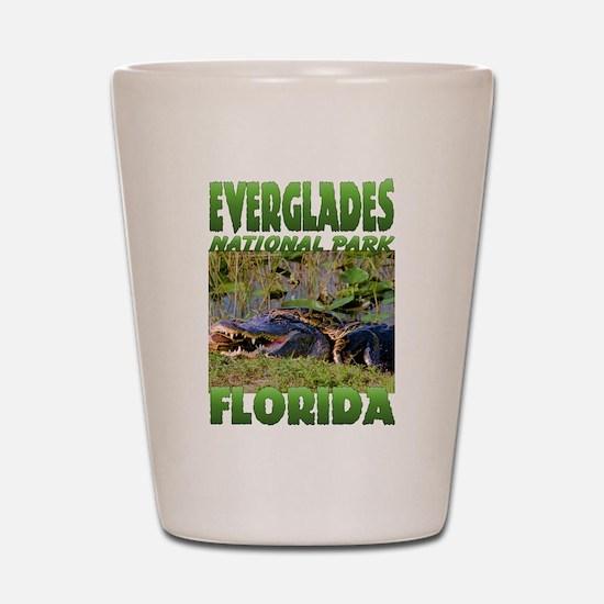 Everglades National Park Shot Glass