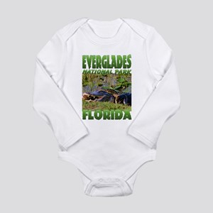 Everglades National Park Long Sleeve Infant Bodysu
