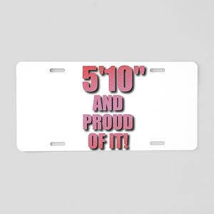 5 foot 10 Aluminum License Plate