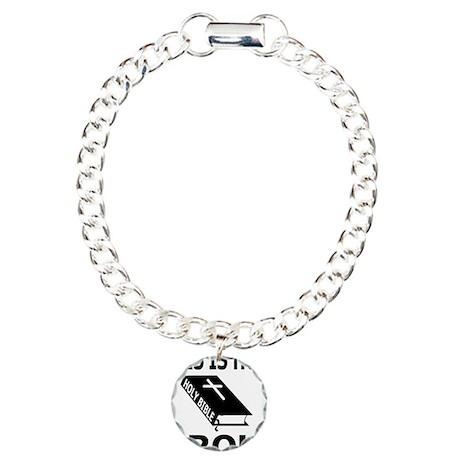 HOLY BIBLE Charm Bracelet, One Charm