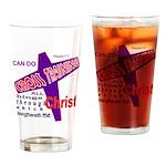 CROSS TRAINING Drinking Glass