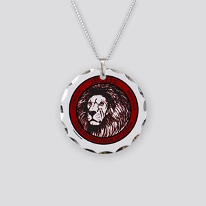 LION, TRIBE OF JUDAH Necklace Circle Charm