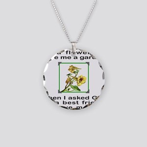 BFF GOD GAVE ME YOU Necklace Circle Charm